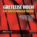 Rezension: Ein anständiger Mord von Gretelise Holm (Hörbuch)