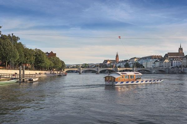 Basler Fähre S © Basel Tourismus