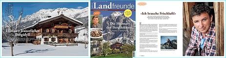 Landfreunde: Das neue Magazin für das Bio-Fernsehen