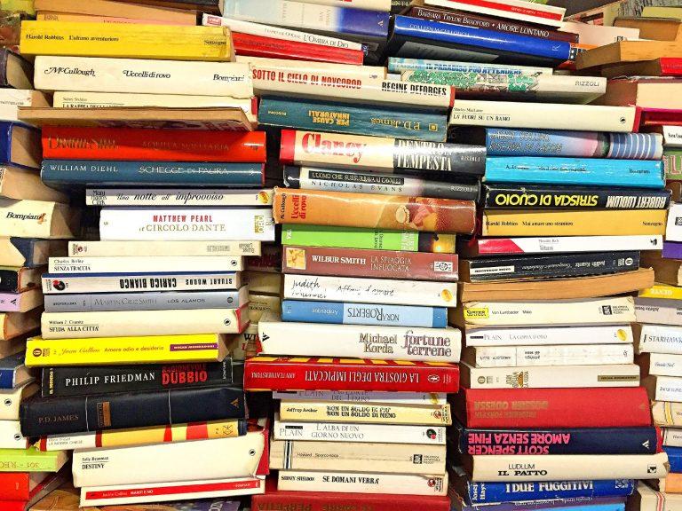 Da hilft nur Bücher verkaufen